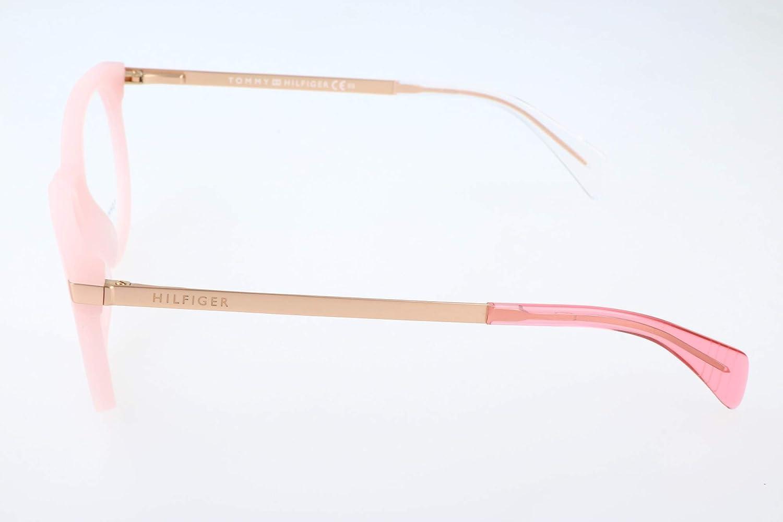 Pink Gold Tommy Hilfiger TH 1380 QEE 48 Occhiali da Sole Rosa Donna