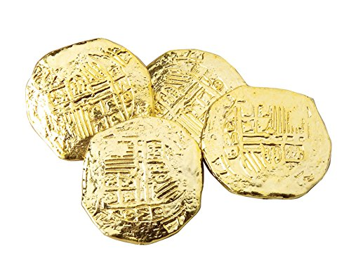 Endless Road Bag of 72 Gold Ancient Pirate Coins Doubloons