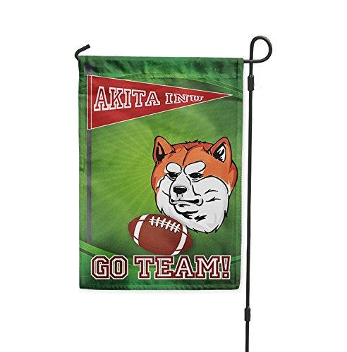 Ventilador de fútbol perro Akita INU Patio Patio Casa Banner ...