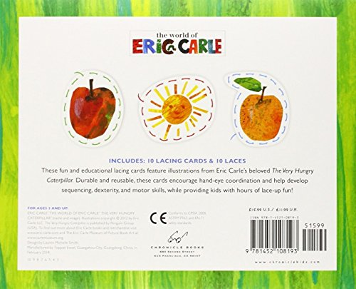 The World of Eric Carle(TM) The Very Hungry Caterpillar(TM) Lacing Cards by Brand: Chronicle Books (Image #2)
