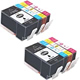 Wolfgray 8 Pack Replacement for HP 920 XL 920XL Ink Cartridges High Yield Compatible with HP Officejet 6500a 6500 7500a 7500 6000 7000 Printer (2 Black, 2 Cyan, 2 Magenta, 2 Yellow)