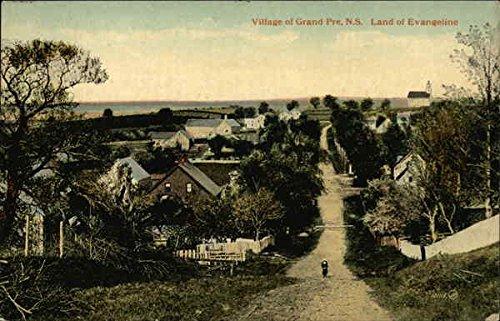 Village of Grand Pre Grand Pre, Nova Scotia Canada Original Vintage Postcard