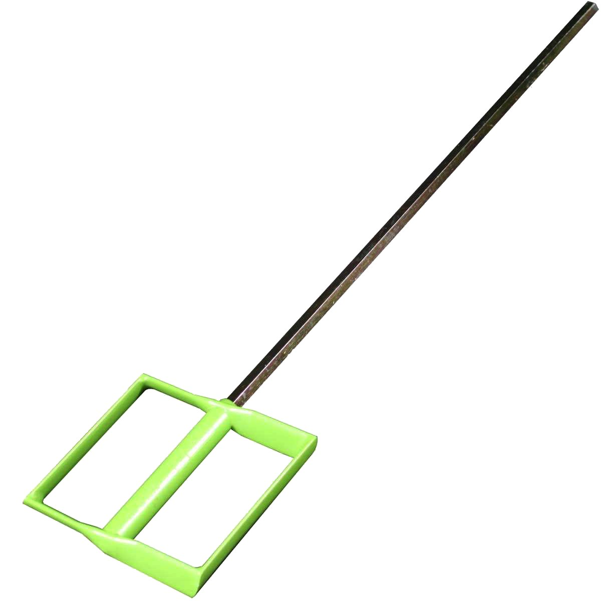 Mix-It Mixing Paddle for Drywall Mud, Paint, Grout, Thinset, Mortar - Hex Shaft fits 1/2'' Drills