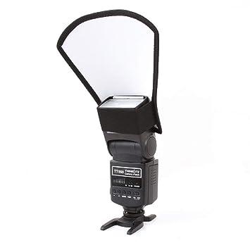 Flash difusor Softbox Reflector para cámara réflex Digital Canon ...