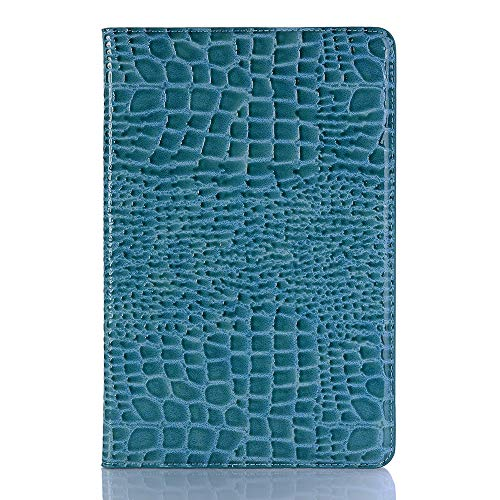 Billfold Pattern - Samsung T835 Screen Protector,Book Crocodile Pattern Vintage Stand Smart Billfold Pouch Magnetic Phone Sleeve Only for Samsung Galaxy Tab S4 SM-T830 (Wi-Fi)/SM-T835 4G (LTE) 10.5-inch 2018(Blue)Boens