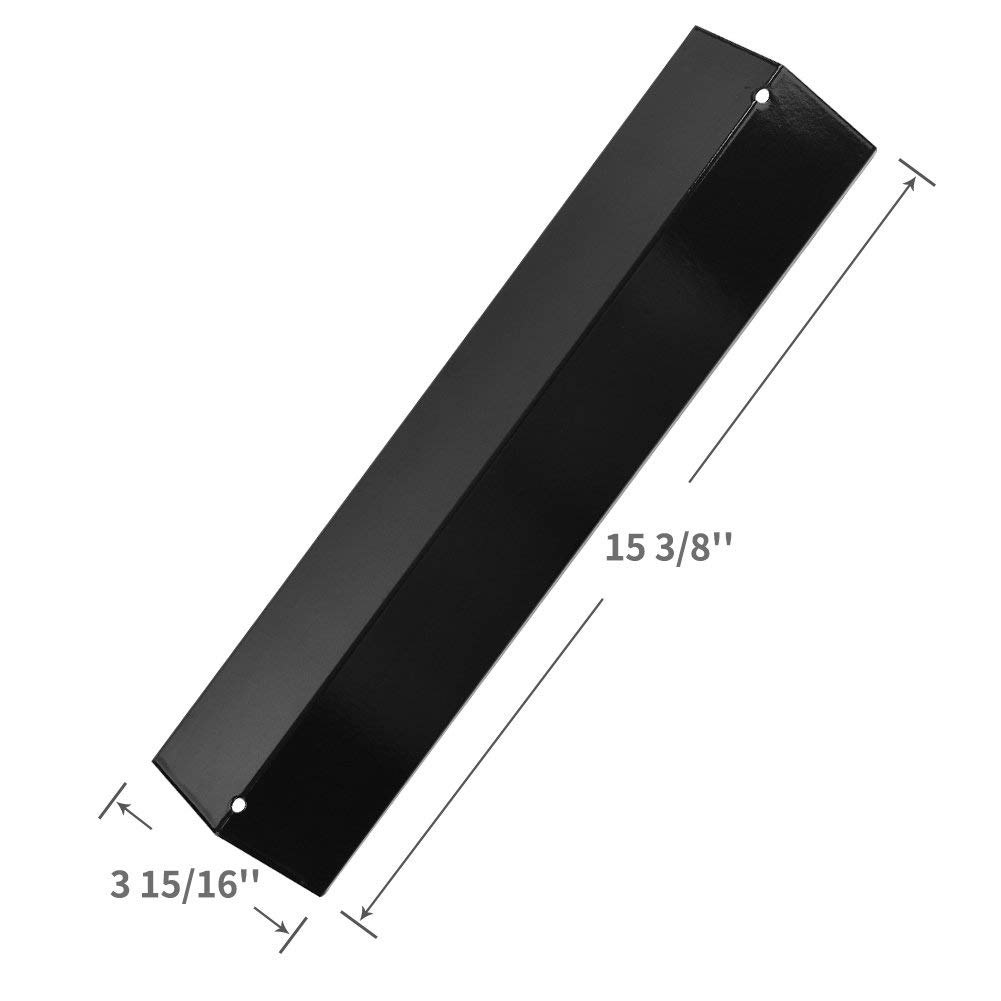 BBQration 15 3/8'' Porcelain Steel Heat Plate for Aussie, Brinkmann, Uniflame, Charmglow, Grill King, Lowes Model Grills, hyJ231A (5-Pack) by BBQration (Image #2)