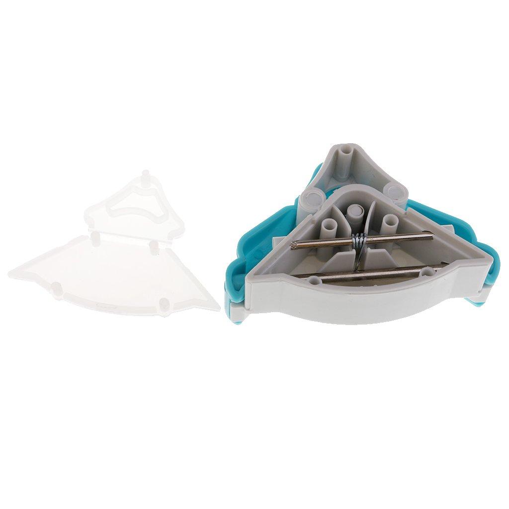 Sharplace Esquina Redondeada Hecho de Acero Inoxidable de 5mm Herramienta para Redondear Esquina de Papel