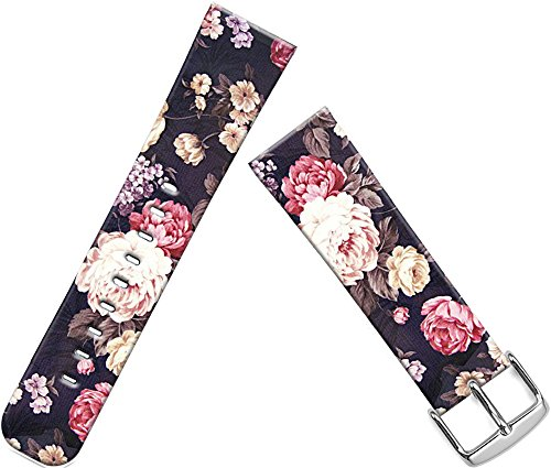 Iwatch Bands 42Mm,Apple Watch Strap Replacement 42MM Luxury Colorful Floral Flower Texture