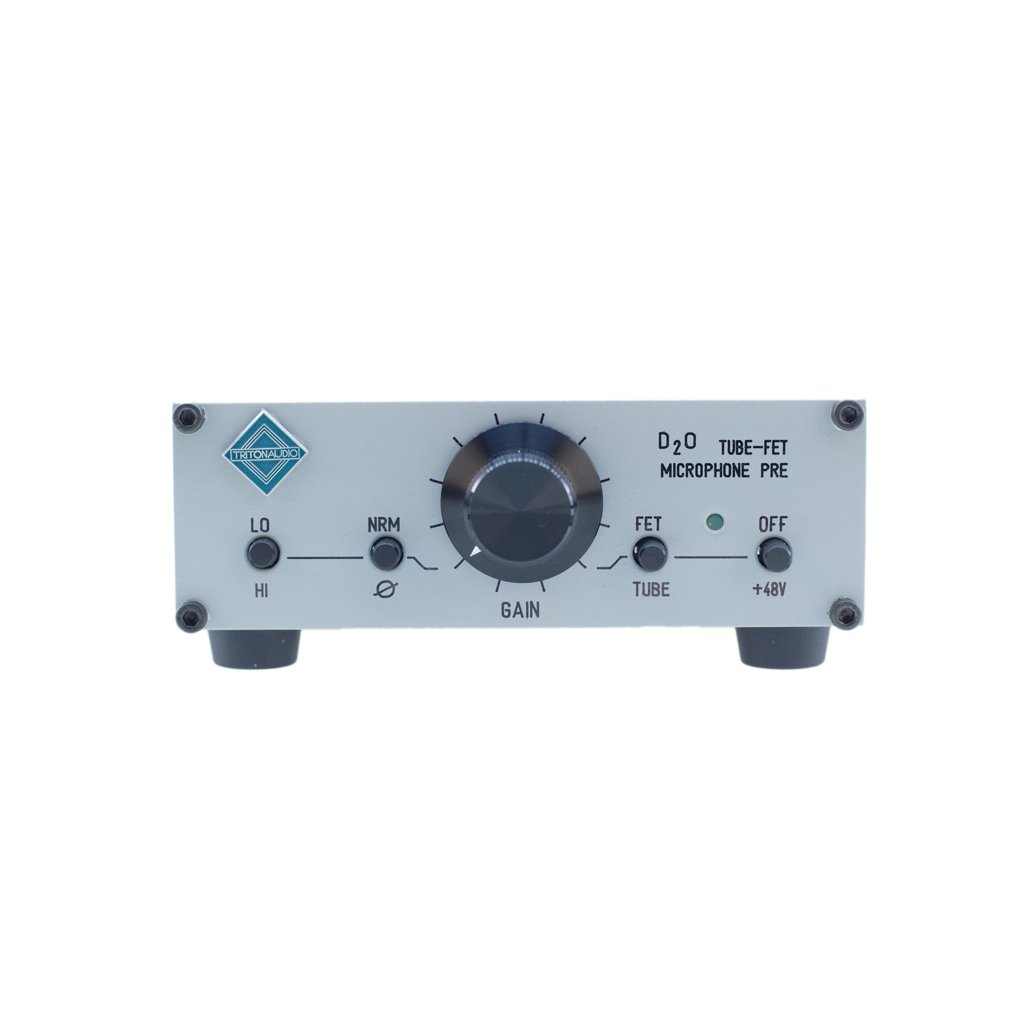 Triton Audio D2o Tube Fet Stand Alone Preamp Musical High Gain Jfet Amplifier Instruments
