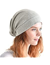 Casualbox ORGANIC Cotton Slouch Beanie Slouchy Baggy Hat for Men & Women Hipster