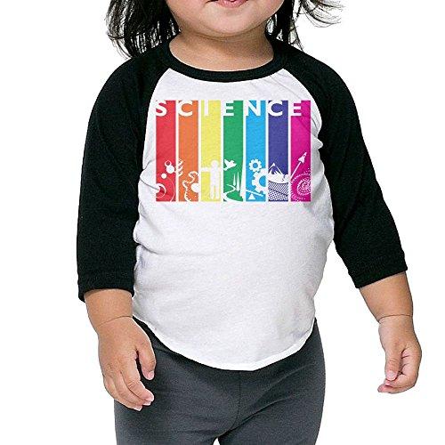 SH-rong Mountain Sky Advanced Science Toddler Baseball T-shirt Size3 - Coupons Bans For Ray