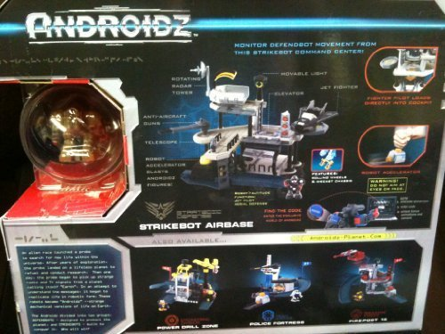 Androidz Small Action Figure Playset - Air Force Base [Toy]