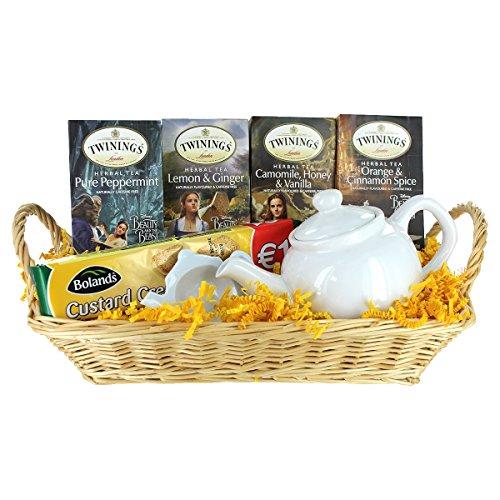 Tea Gift Basket - Beauty and the Beast