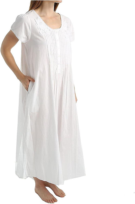 La Cera Women's 100% Cotton Woven Max 42% OFF Ranking TOP12 1275 Lace Gown Applique Ballet