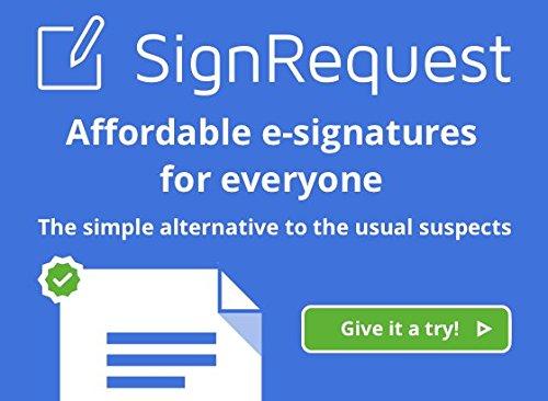 SignRequest Electronic Signatures Pro
