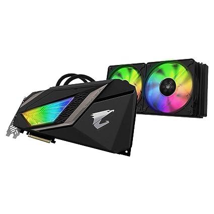 Gigabyte GeForce GV-N208-TAORUSX W-11GC - Tarjeta gráfica 3X DisplayPort/3x HDMI/USB-C