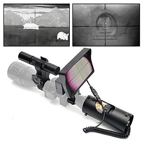 bestsight DIY Digital Night Vision Scope for Rifle Hunting with Camera and Portable Display (Portable Night Vision Scope)