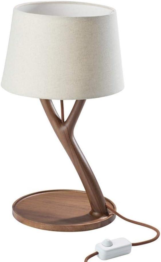 Hjbh123 Lampe de Chevet Table Moderne Minimaliste Bois Lampe