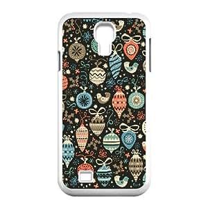 Samsung Galaxy S4 Cases Happy Christmas, Samsung Galaxy S4 Cases Christmas, [White]