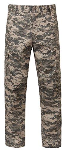 Rothco Digital Camo Tactical BDU Pants, ACU Digital Camo, XL