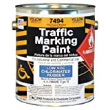 yellow appliance paint - Traffic Marking Paint, Yellow, 1 gal.