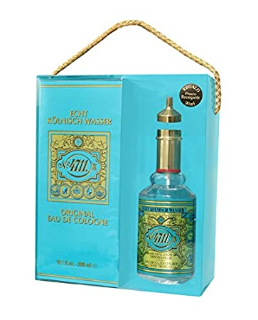 Amazon.com : Estuche 4711 Agua De Colonia 300 ml + Regalo 90 ...