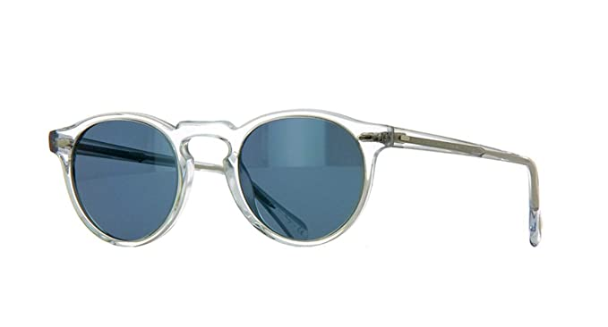 80faa47fdea Oliver Peoples Sunglasses Gregory Peck 5217 1101 R8 Crystal Indigo  Photochromic  Amazon.co.uk  Clothing