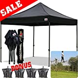 AbcCanopy 10x10 Pop up Tent Instant Canopy Commercial Outdoor Canopy with ...
