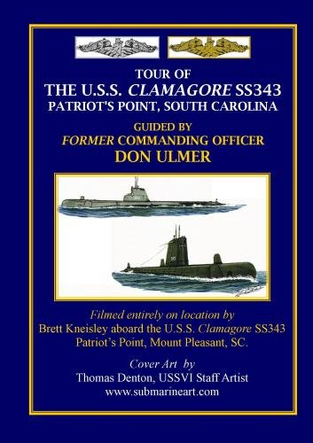 Tour of the USS Clamagore, Patriot's Point, South Carolina