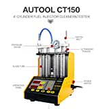 AUTOOL MINI CT-150 Automotive 4 Cylinder Ultrasonic Wave Injector Cleaner and Tester Support Motorcycle CT150 Automotive Fuel Cleaning Tools With Motorcycle Adapters