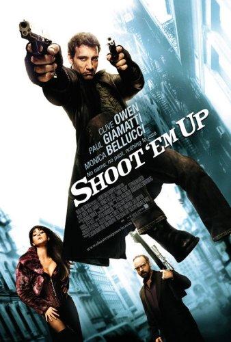 Shoot 'Em Up, Original 27x40 Double Sided Regular Movie Poster