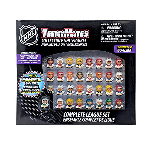 Party Animal TMSNH2 TeenyMates NHL Goalies Collector Set, 1