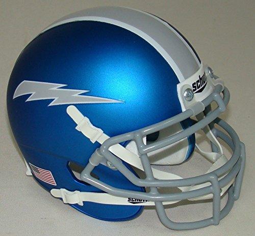 Air Force Falcons Alternate Blue Matte Schutt Authentic Mini Helmet