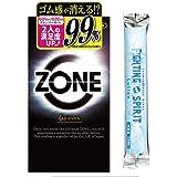 ZONE ゾーン コンドーム 6個入 + ファイティングスピリットローション12mLセット