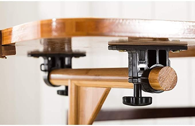 Laptop Table Coffee Table Folding Desk Portable Laptop Desk Bed Tray//Iron 60.1 /× 40.1 /× 28 cm Size : 604062cm