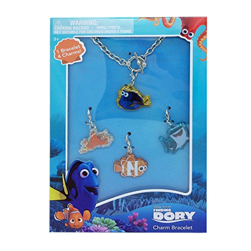 [Finding Dory Jewelry Box Set with Charms (Set of 5)] (Tiffany Blue Costume Jewelry)