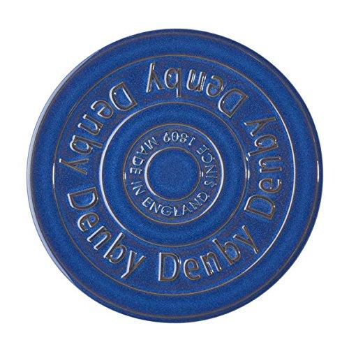 - Denby Imperial Blue Trivet, Royal Blue