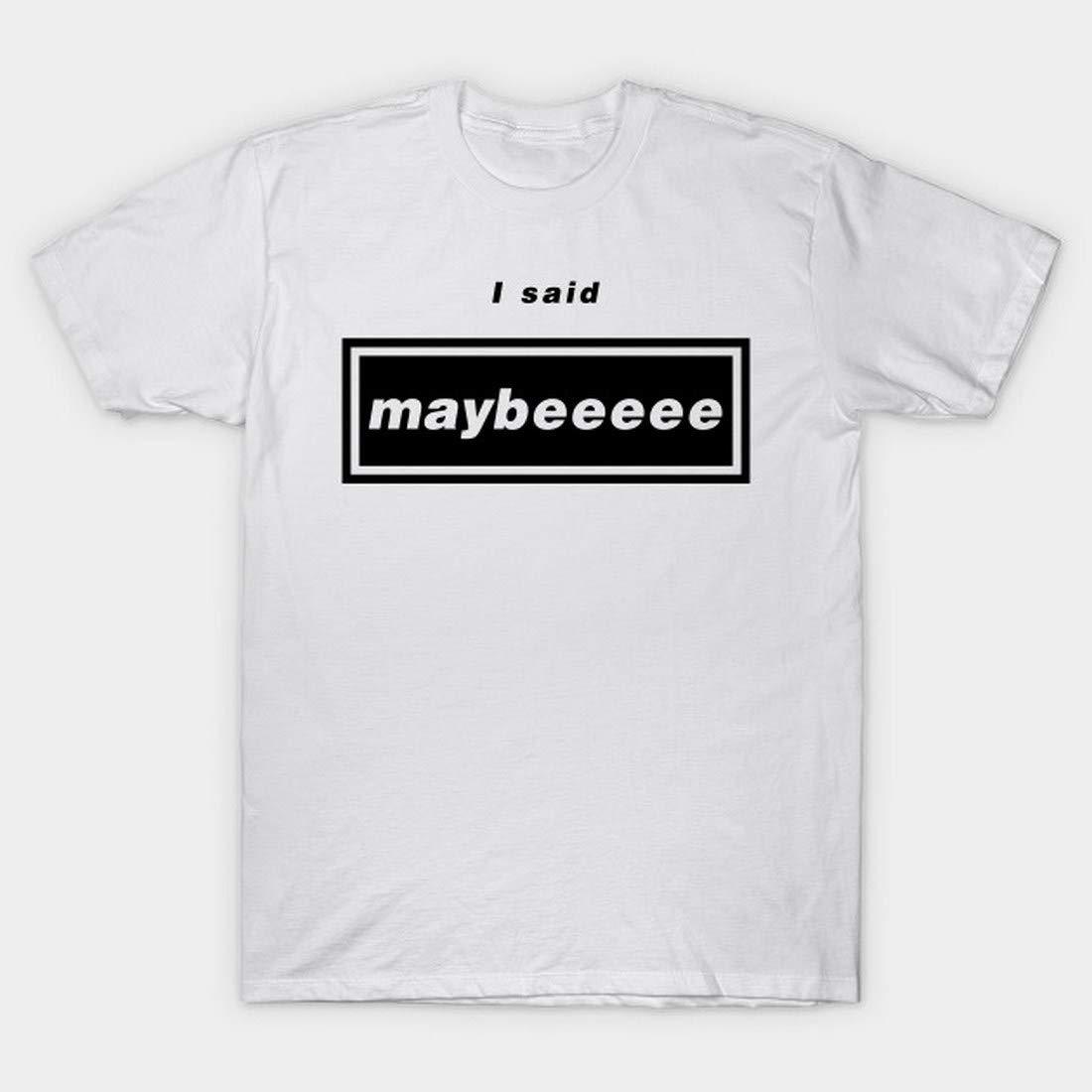 Wonderwall Oasiss I Said Maybeeeee Liams Gallaghers Love Music Rocks Bandss T Shirt T Shir
