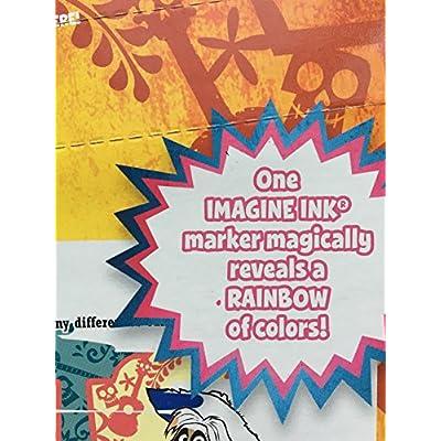 Disney Pixar Coco Imagine Ink Magic Ink Pictures Game Activity Book: Toys & Games