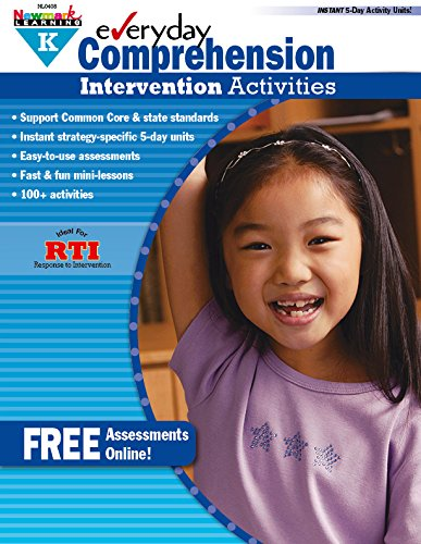 - Everyday Intervention Activities for Comprehension Grade K (Eia)