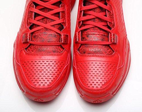 Adidas D Lillard 1 (Rose City) Scarlet / Black - Bright Red (8.5)