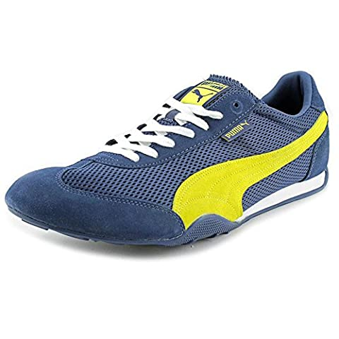 Puma 76 Runner Fun Men US 14 Blue Sneakers UK 13 EU 48.5 (Mens Puma 76 Runner)