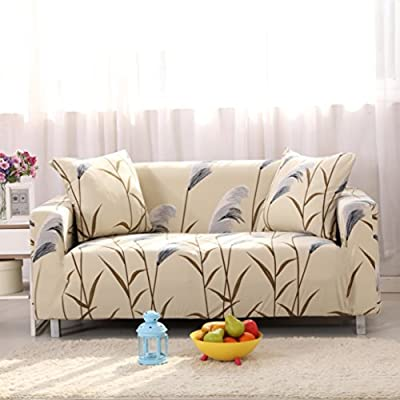 Amazon Lamberia Printed Sofa Cover Stretch Couch Cover Sofa Gorgeous Couch Covers For Couches With Pillow Backs
