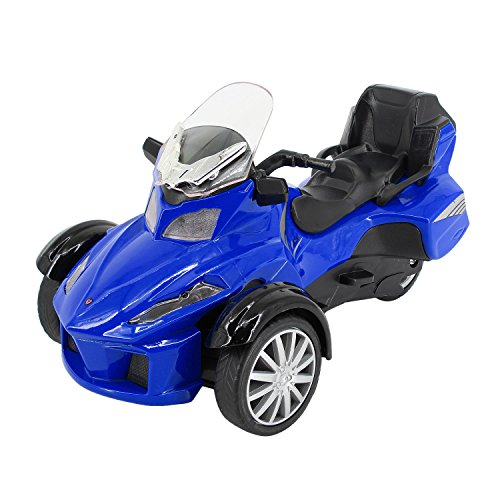 Multifit Kids 1:16 Die Cast Pullback 3 Wheel Motorcycle for sale  Delivered anywhere in USA