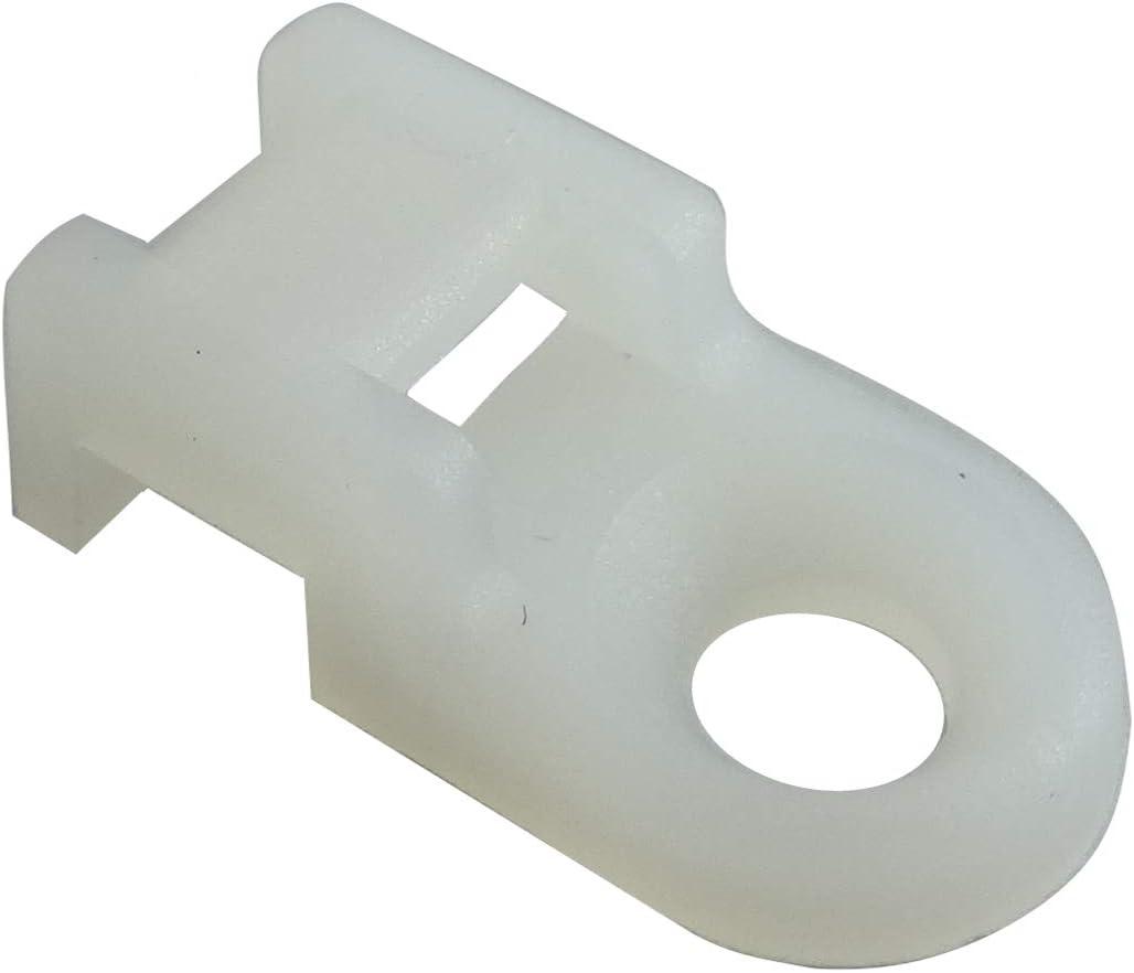 Attaches de c/âble jusqu/à 9 mm de large Fixation de c/âble pour fixation sur selle M5 GTSE Lot de 100 attaches de c/âble noires /à visser Trou de vis de 5 mm