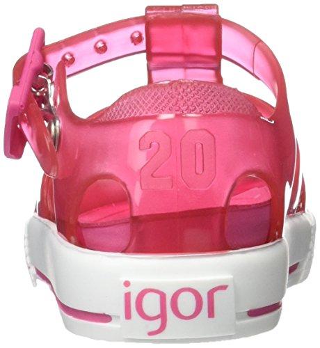 Igor Sandali Bambina Tenis S10107 Rosa
