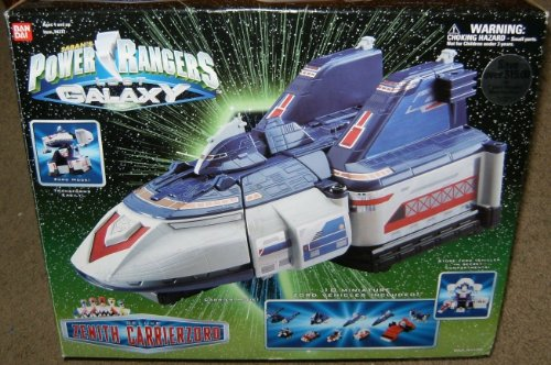 Galaxy Rangers Power (Power Rangers Lost Galaxy Zenith Carrierzord Deluxe Action Vehicle)