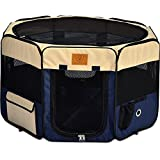 Precision Pet Soft Side Play Yard by Precision Pet