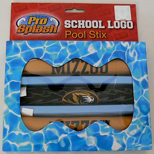 Officially Licensed NCAA Mizzou Tigers Swimming Pool Diving Sticks
