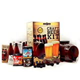 Mr. Beer Premium Gold Edition Craft Making Kit with Two Beer Refills, Convenient Fermenter and Bottles Designed for Simple and Efficient Homebrewing, 2 Gallon